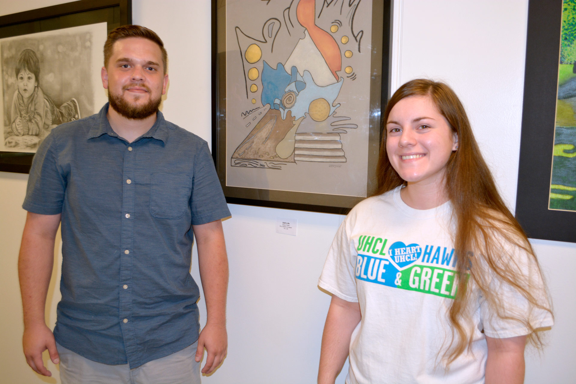 Exhibition showcases student work from every art class UHCL offers