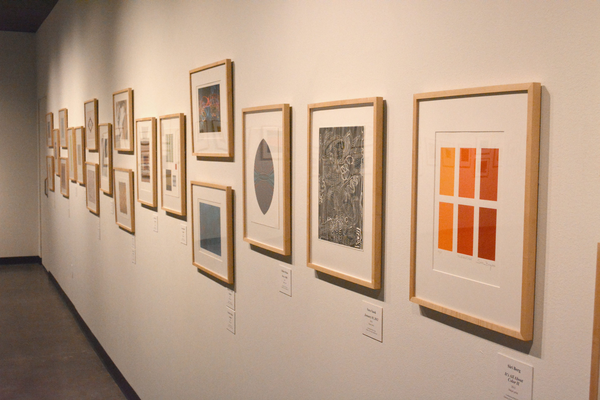 Artist to comment on abstract show at UHCL Art Gallery