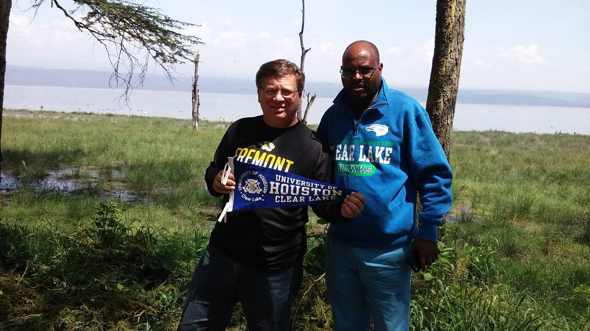 Blog: UHCL profs' research trip to Kenyan university culminates in visit to national park