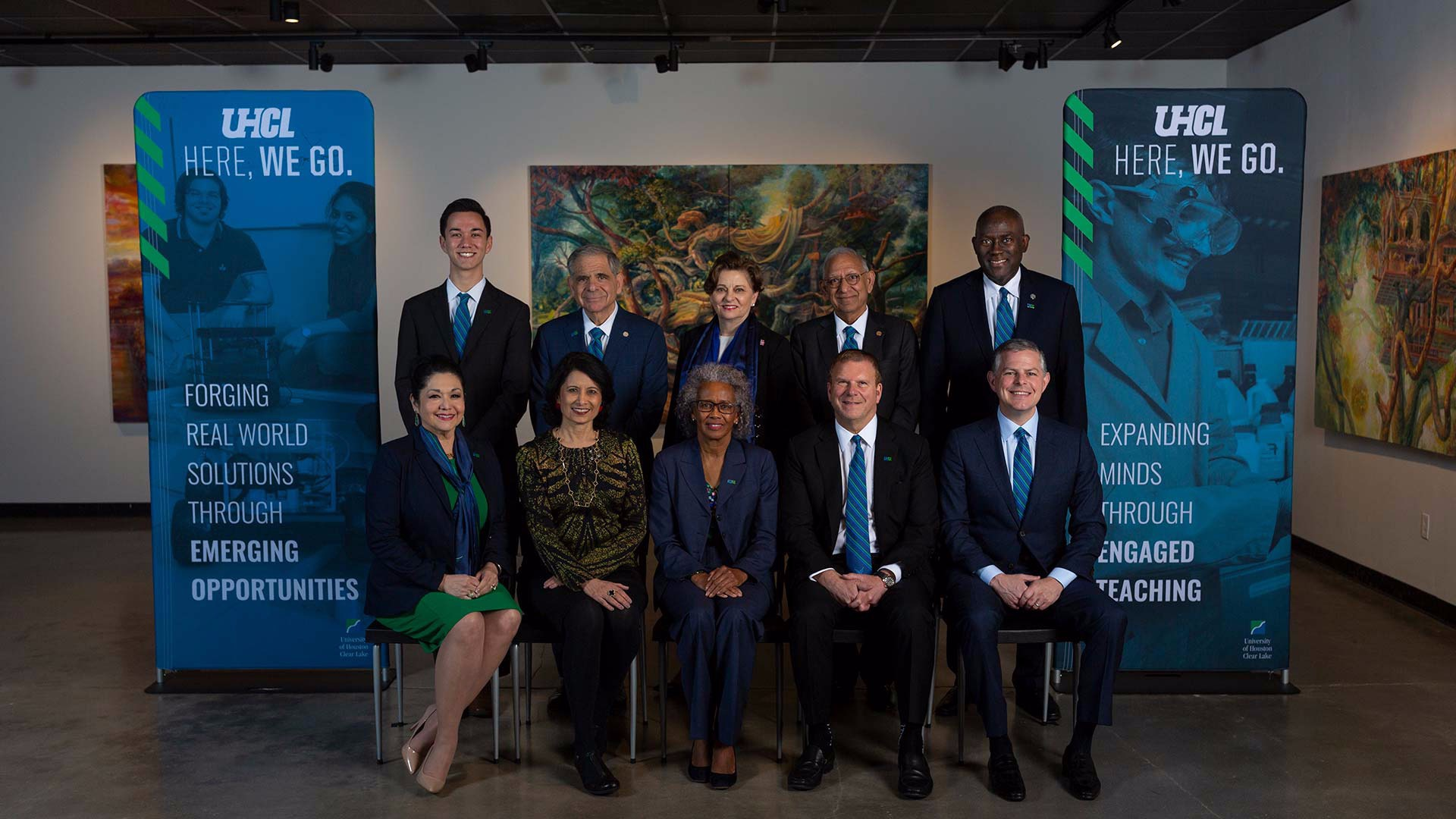 UHCL hosts UH System Board of Regents meeting