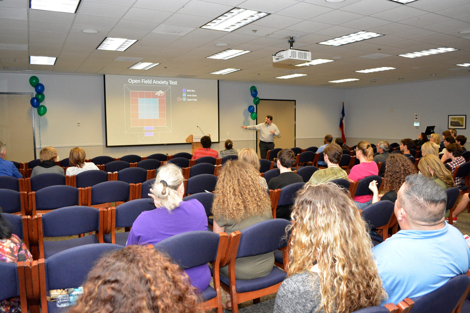 UHCL faculty showcases programs, presents research to CCISD students, faculty