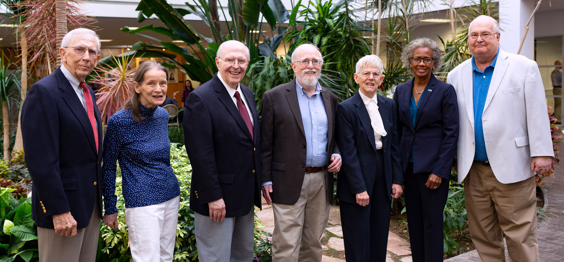 Charter faculty members reminisce in UHCL history panel