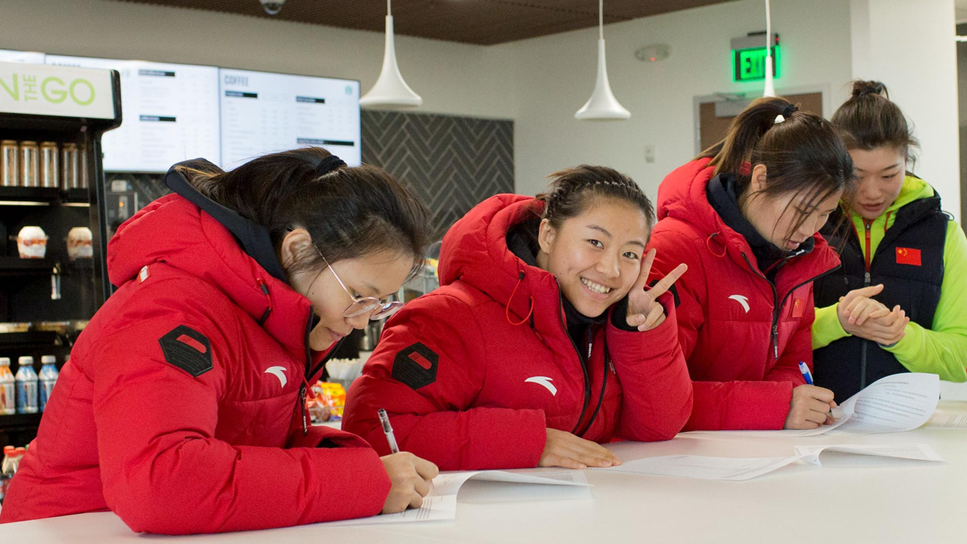 China's women's boxing team visits UHCL's high-performance institute