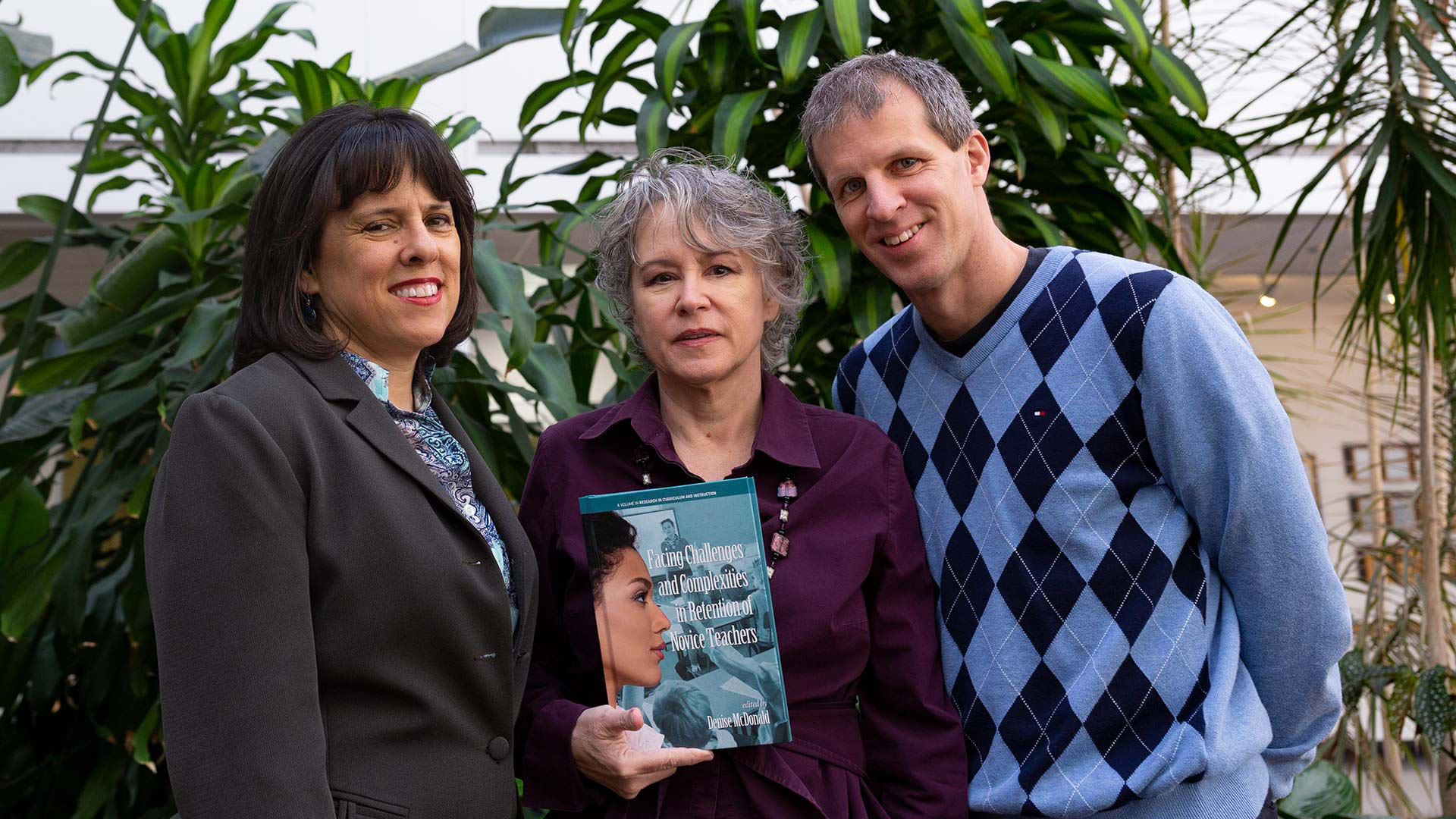 College of Education profs collaborate on research exploring issues facing novice teachers