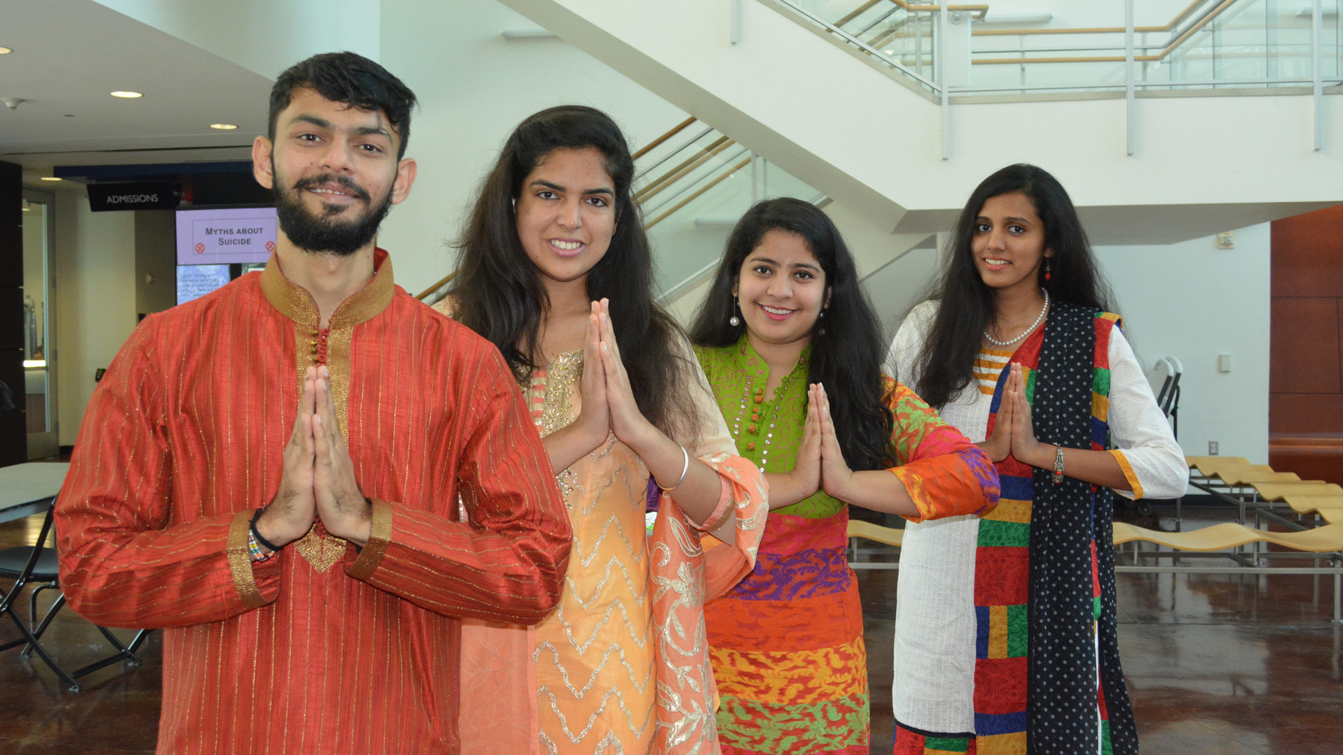 UHCL students celebrate Diwali