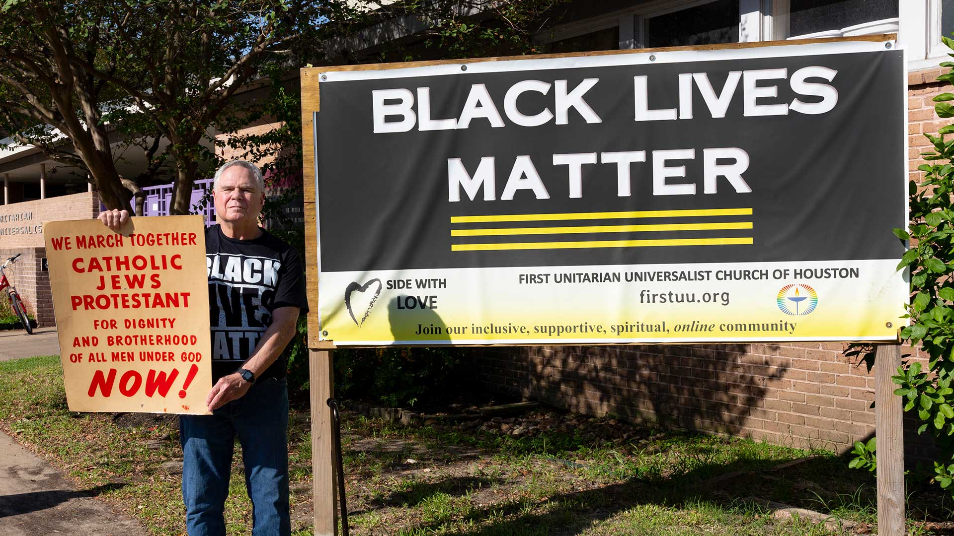 Retired UHCL prof continues legacy of protest for racial justice