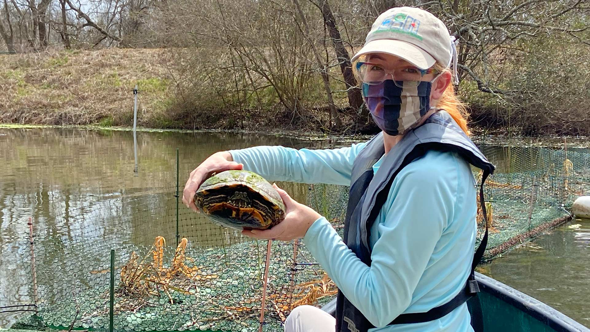 For local waterways, floating wetlands offer filtration power
