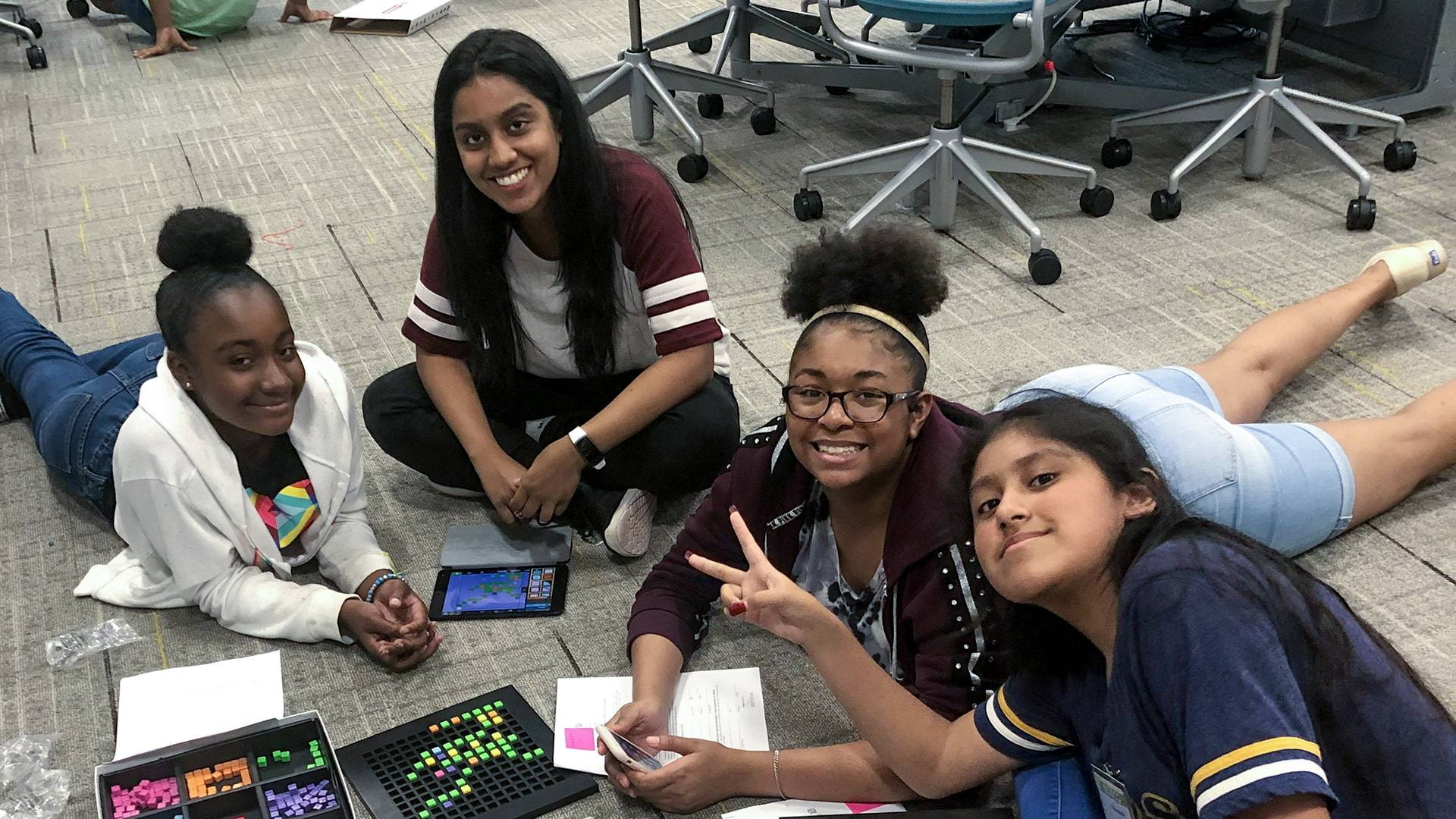 UHCL summer academy empowers girls to learn coding, computer skills