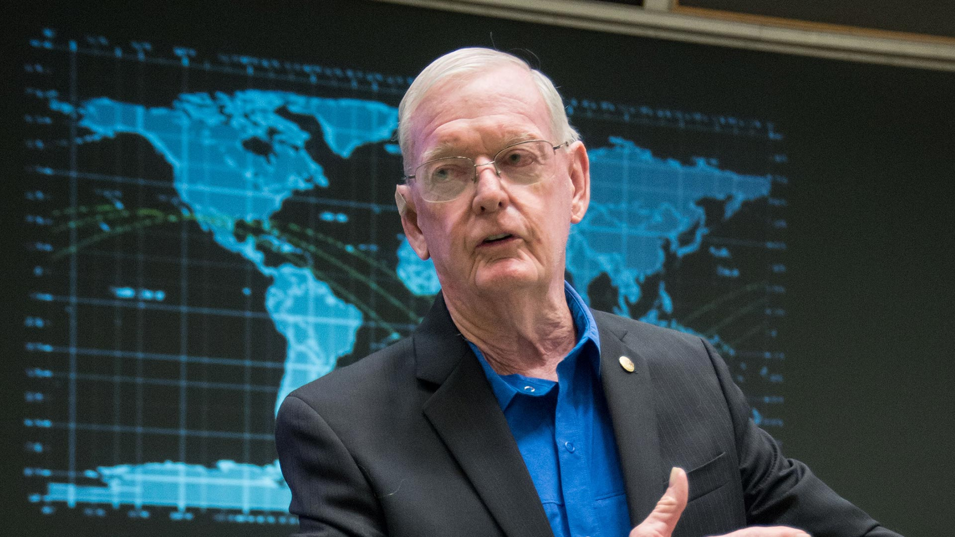 UHCL remembers NASA icon Glynn Lunney, co-founder of CLASP