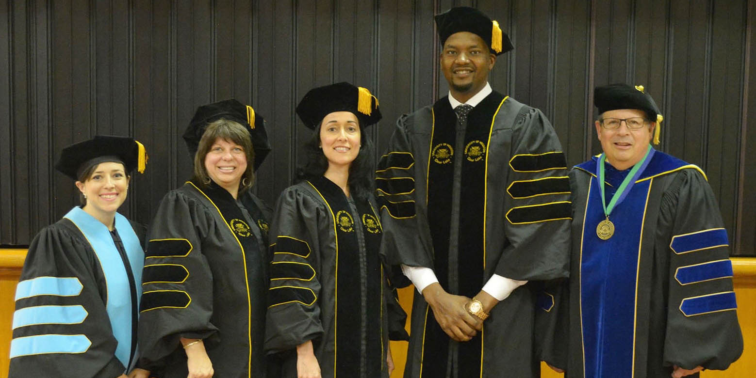 Grads receive doctor of educational leadership