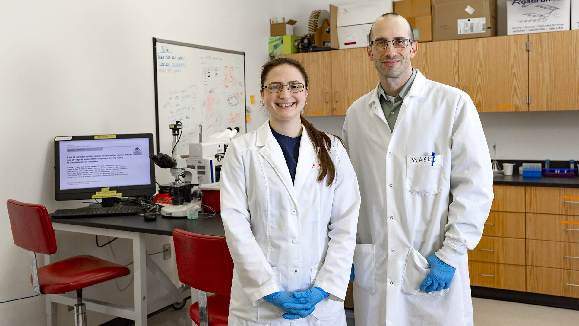 Professor and Assistant Write Article on Aging