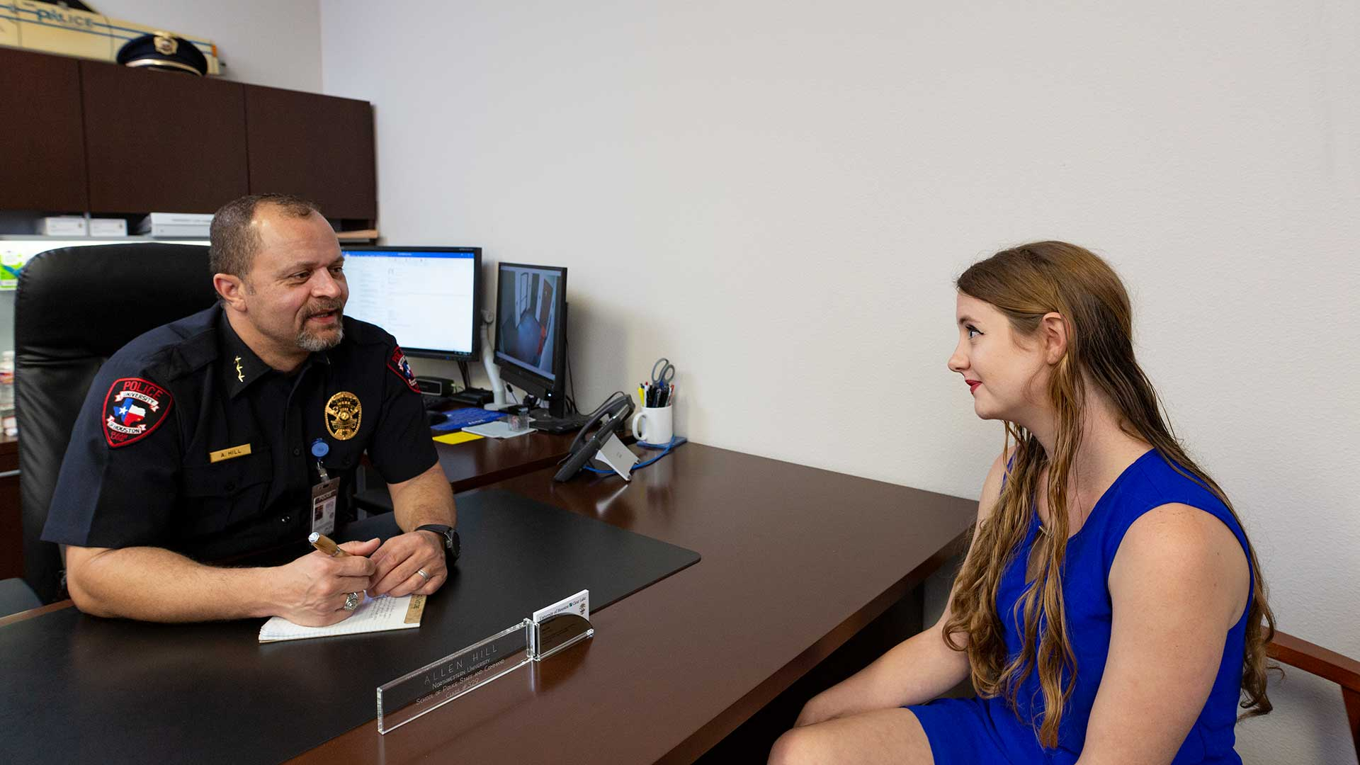 UHCL student developing protocol for police response to people with autism