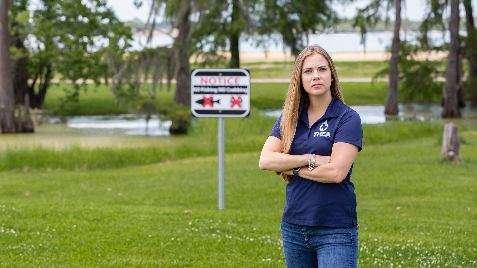 From victim to champion: UHCL alumna honored for environmental work
