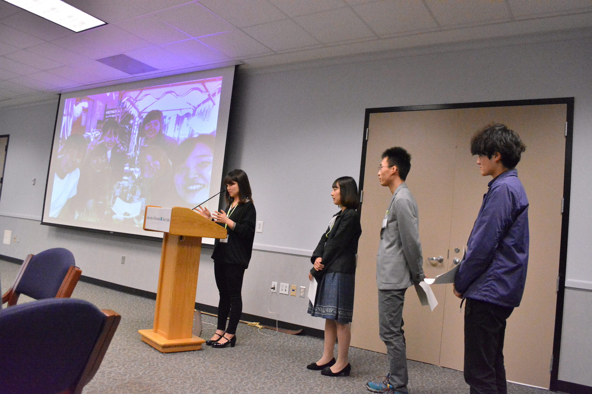 Japanese students visit UHCL, discuss natural disaster recovery