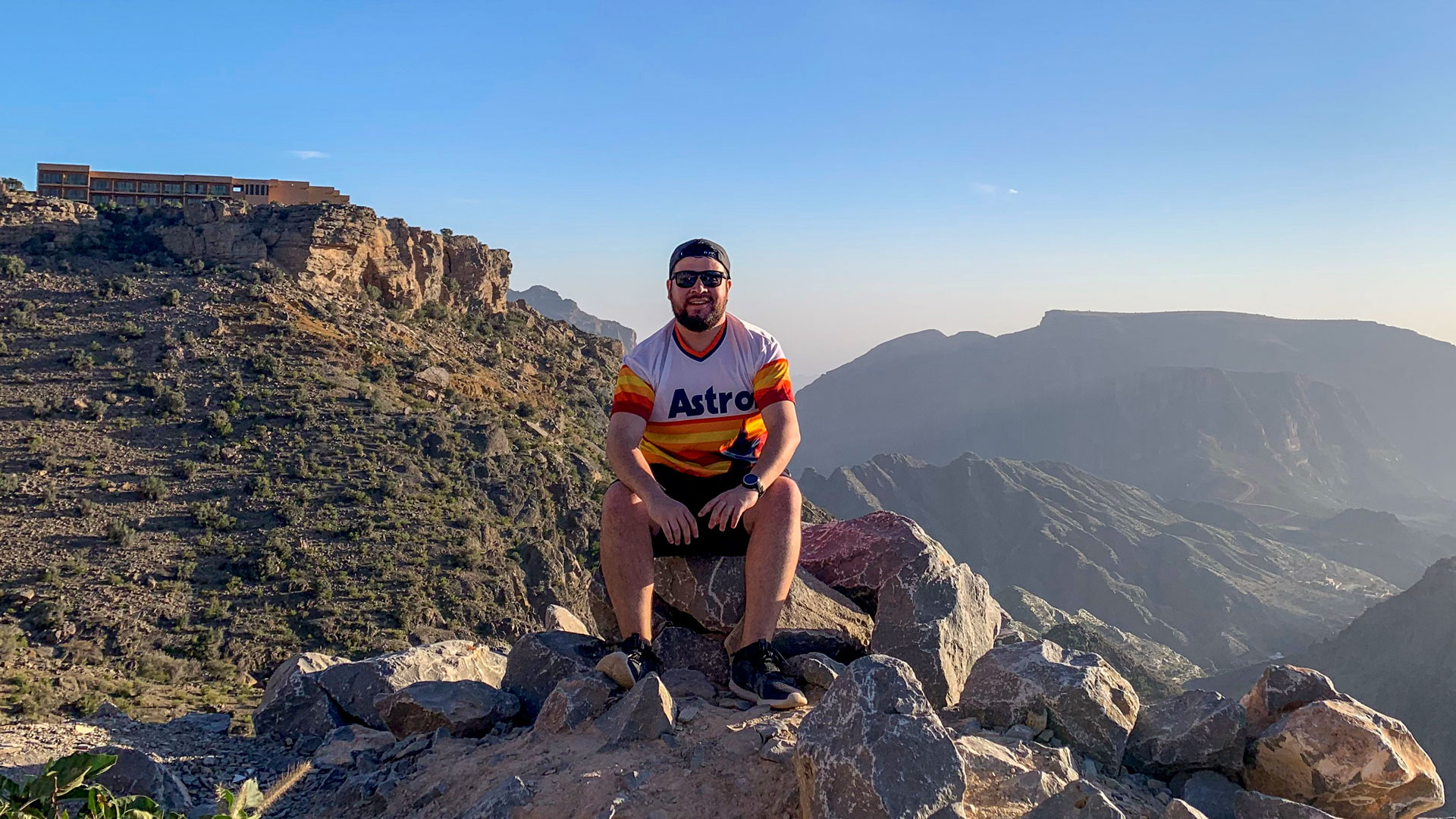Rocky roads up the tallest mountain in Oman make for spectacular views
