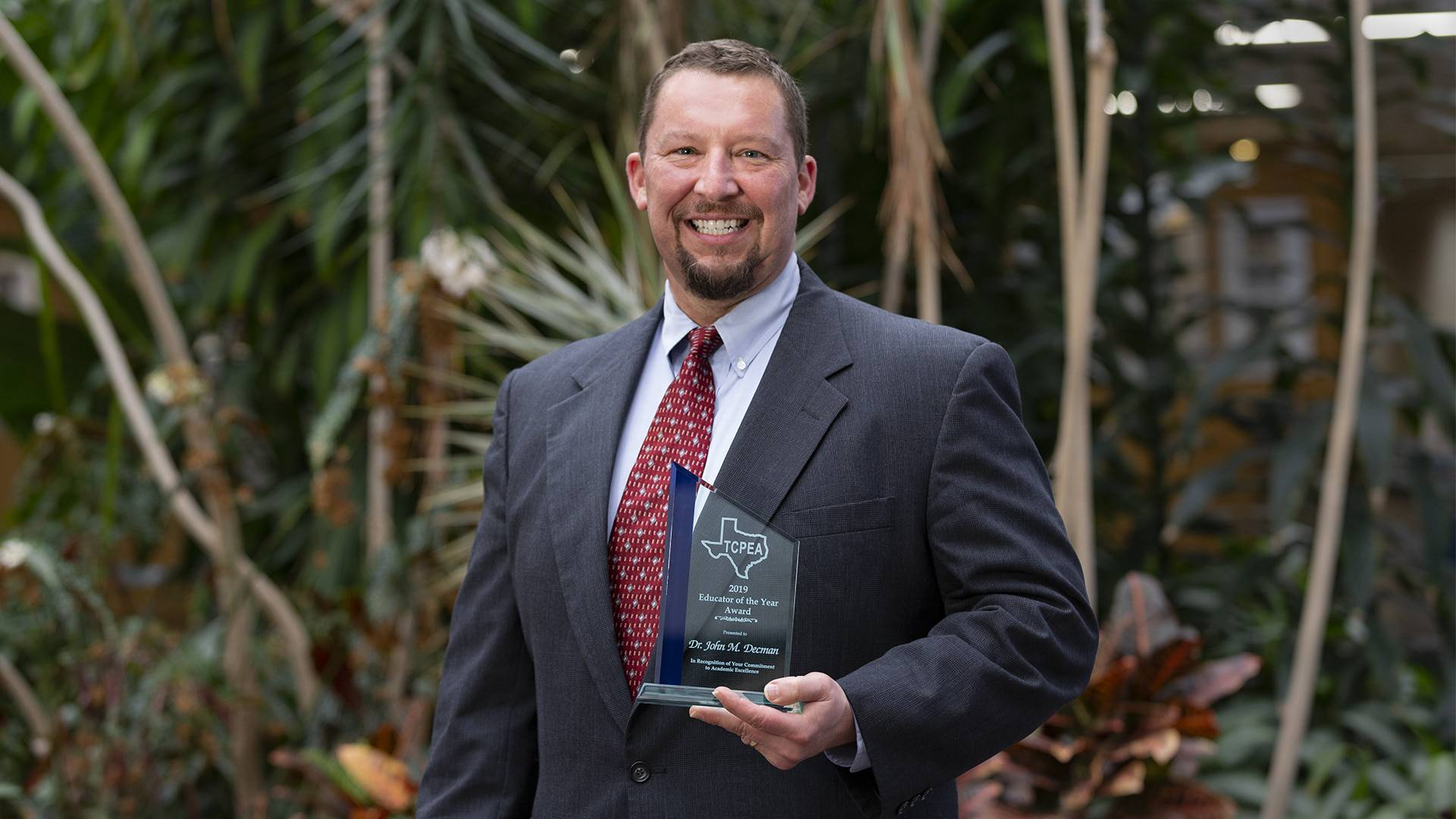 UHCL prof receives top educational administration honor