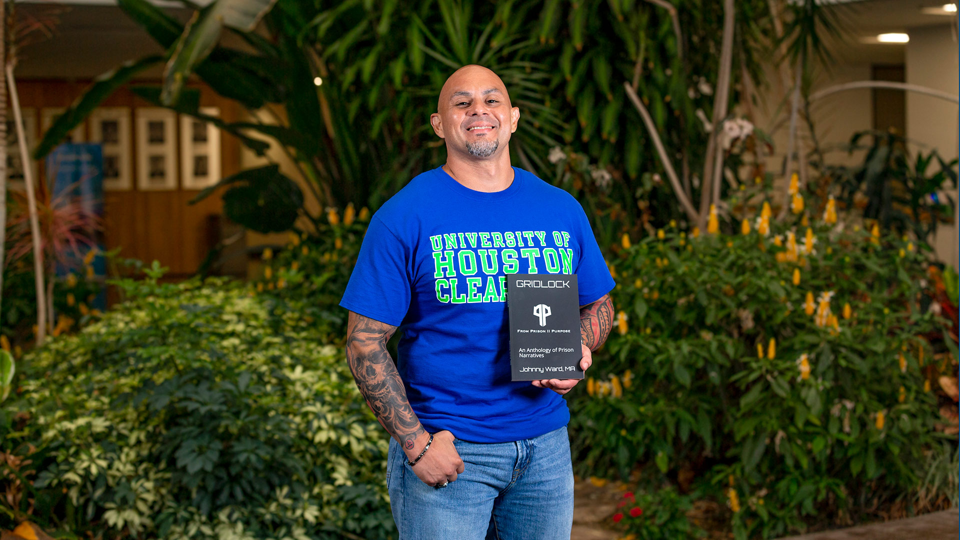 Alumnus finds path 'From Prison II Purpose'