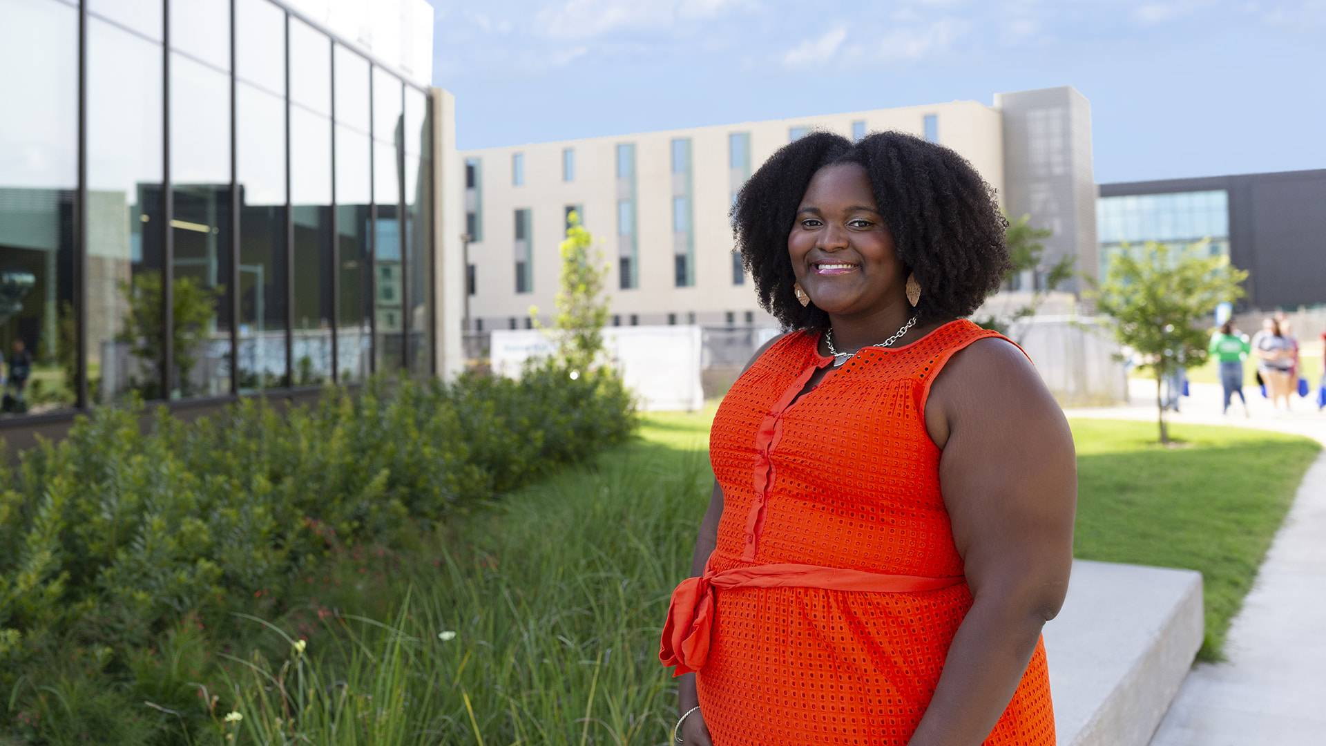 Resident adviser aims to foster understanding, sense of belonging in Hunter Hall