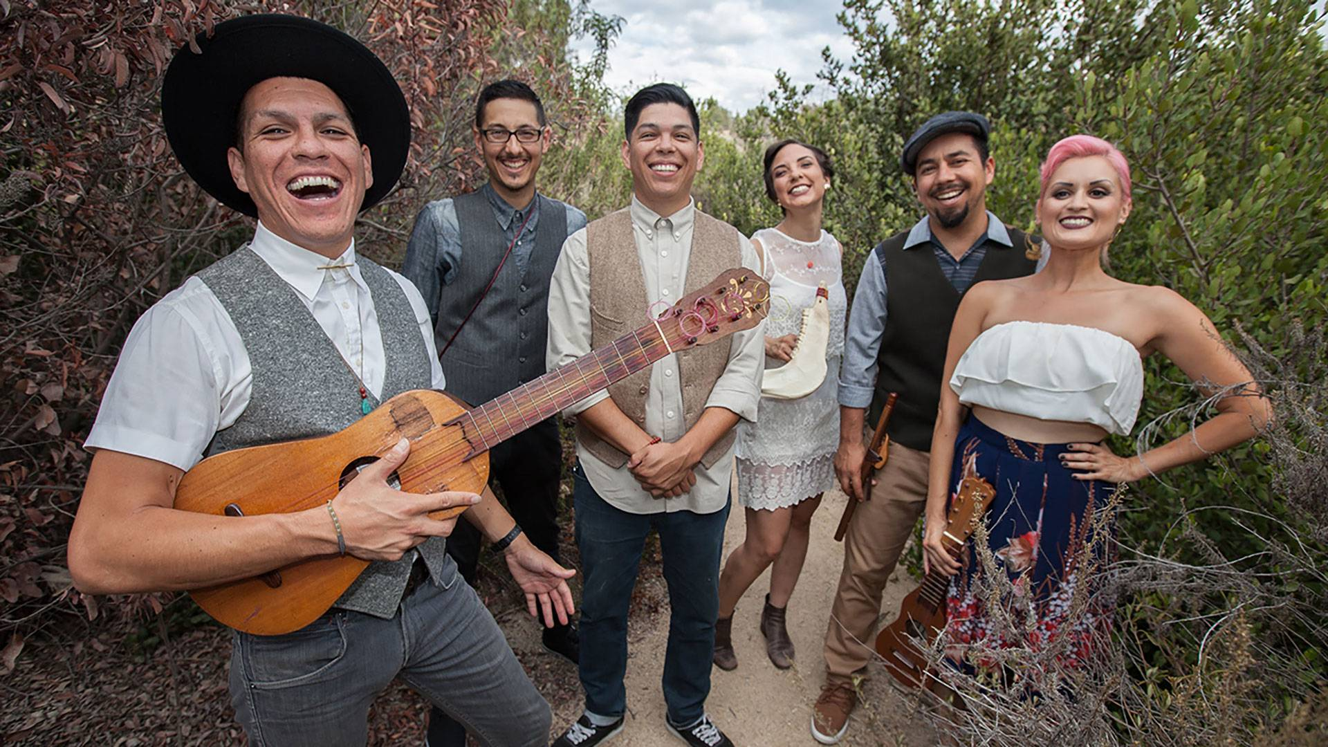 Las Cafeteras to combine vibrant East L.A. sound and positive message in 'party' performance
