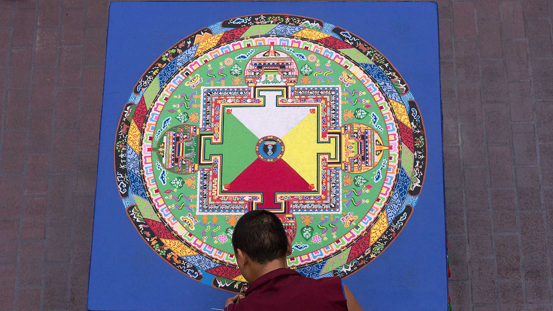 Buddhist monks return to UHCL, share spiritual traditions