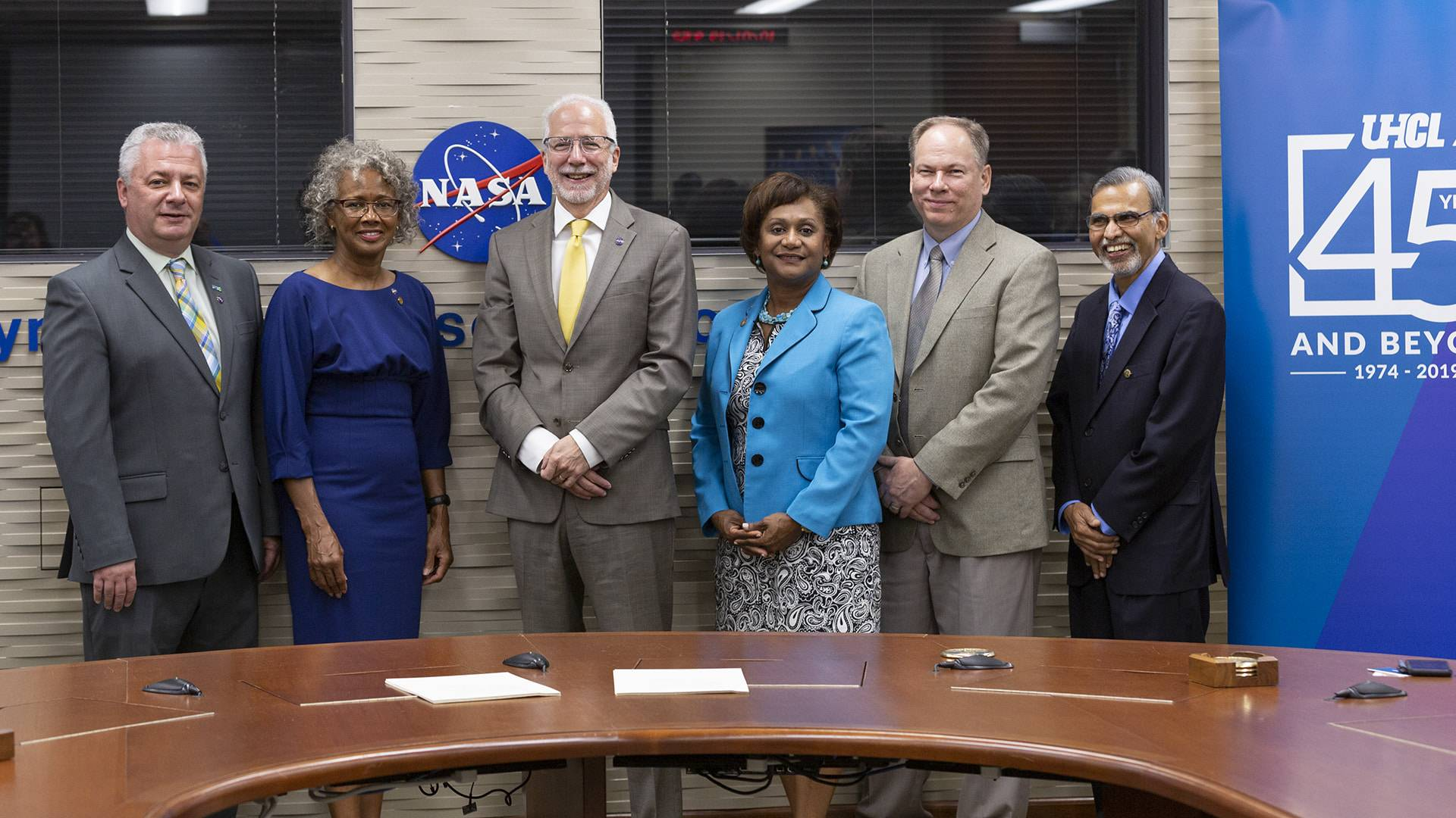 'Great day for all of us': NASA Johnson, UHCL expand partnership