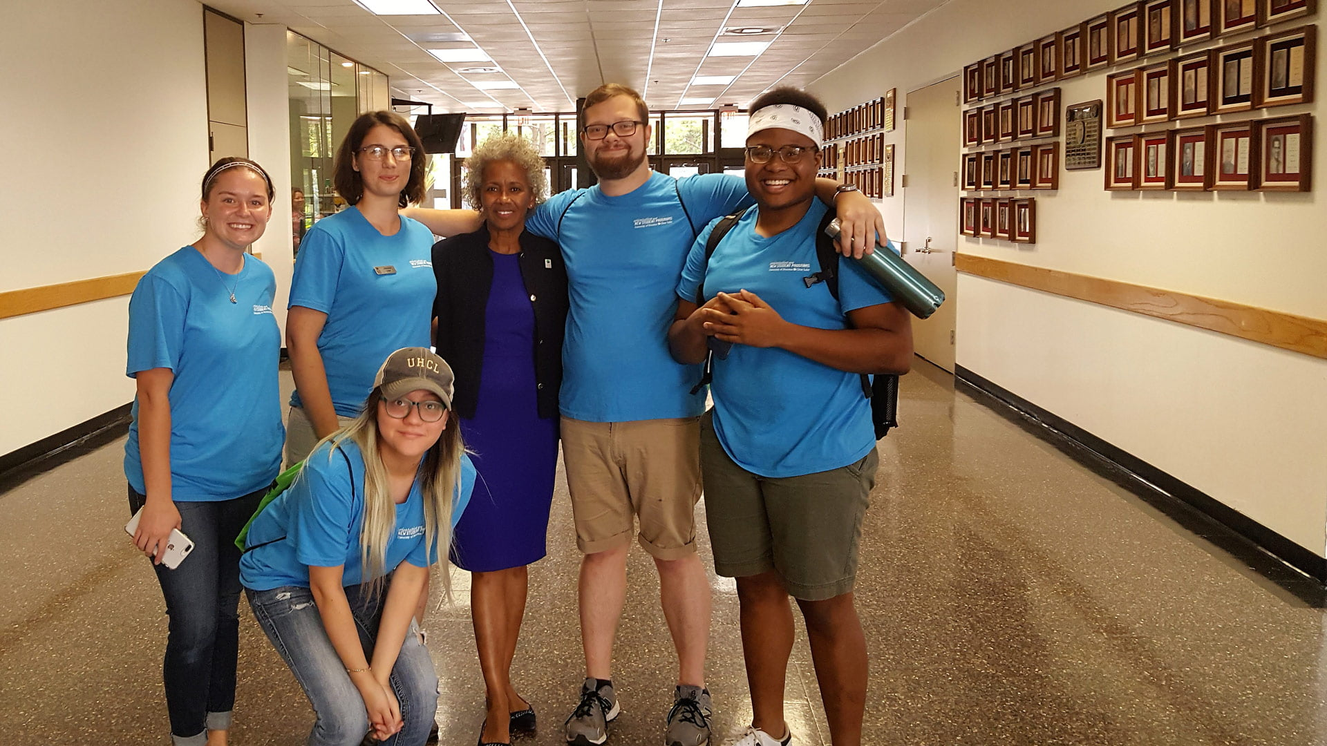 UHCL's Orientation Leaders gear up for Welcome Week