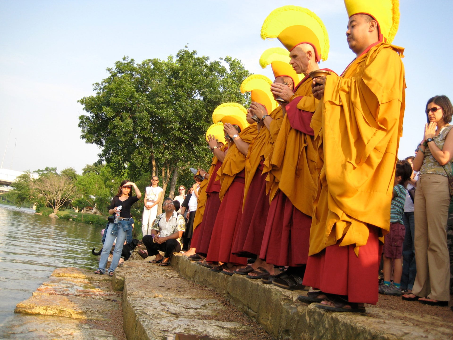 Schedule of events for Tibetan monks' visit to UHCL