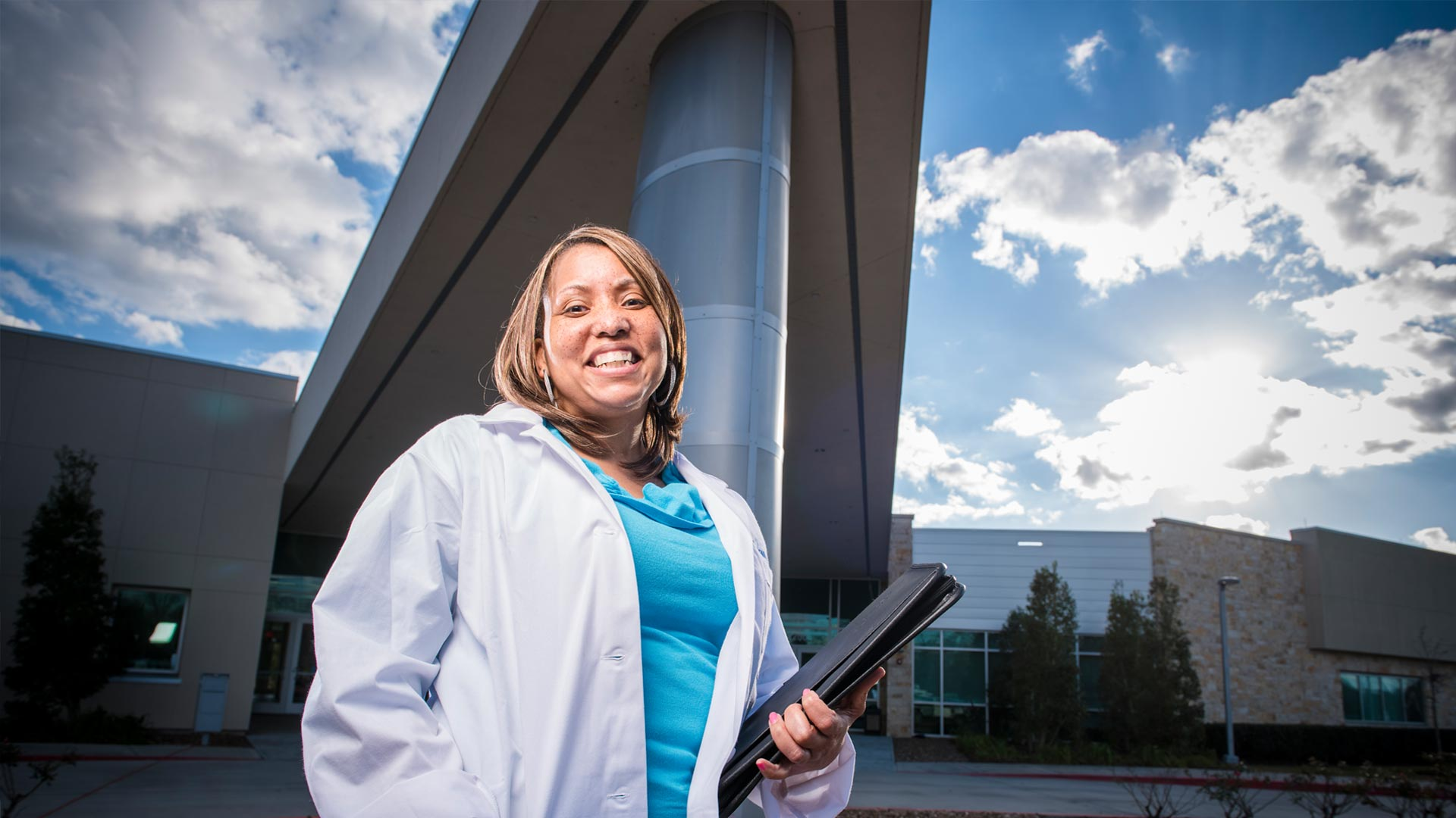 Building professions: Health Sciences Center at UHCL Pearland Campus
