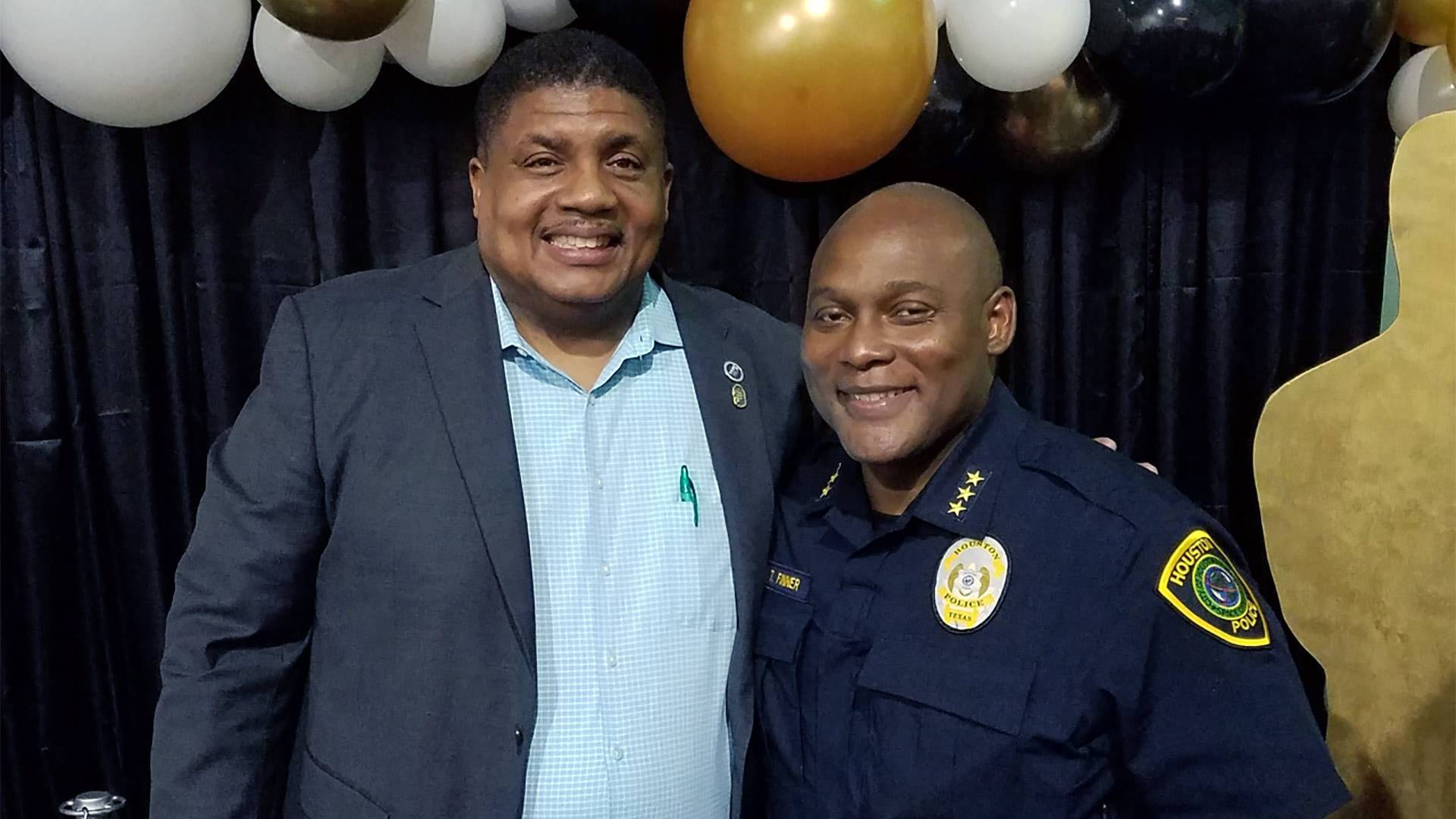 Troy Finner is second UHCL alum to become Houston police chief