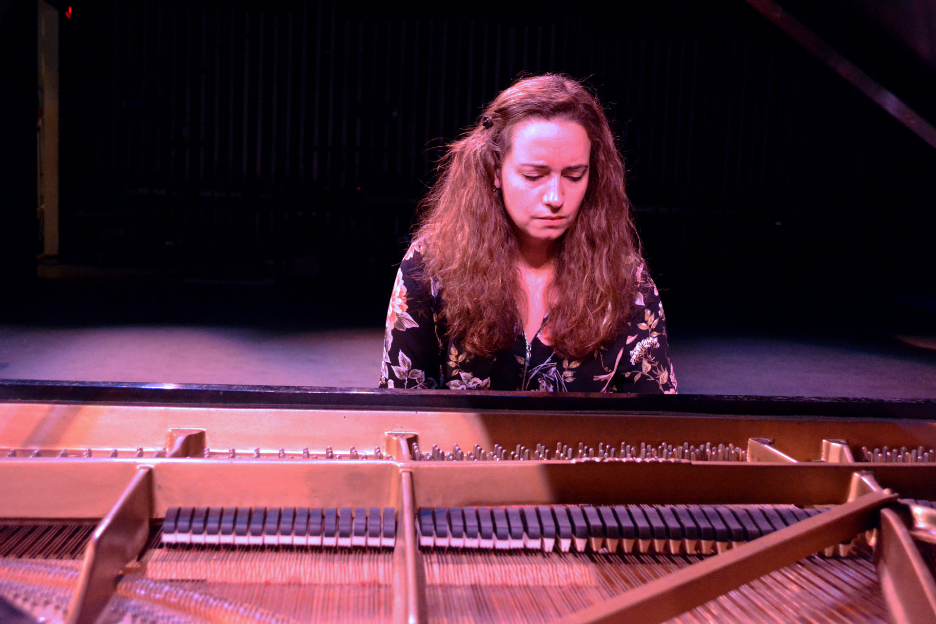 Engineering professor showcases passion for music in piano recital