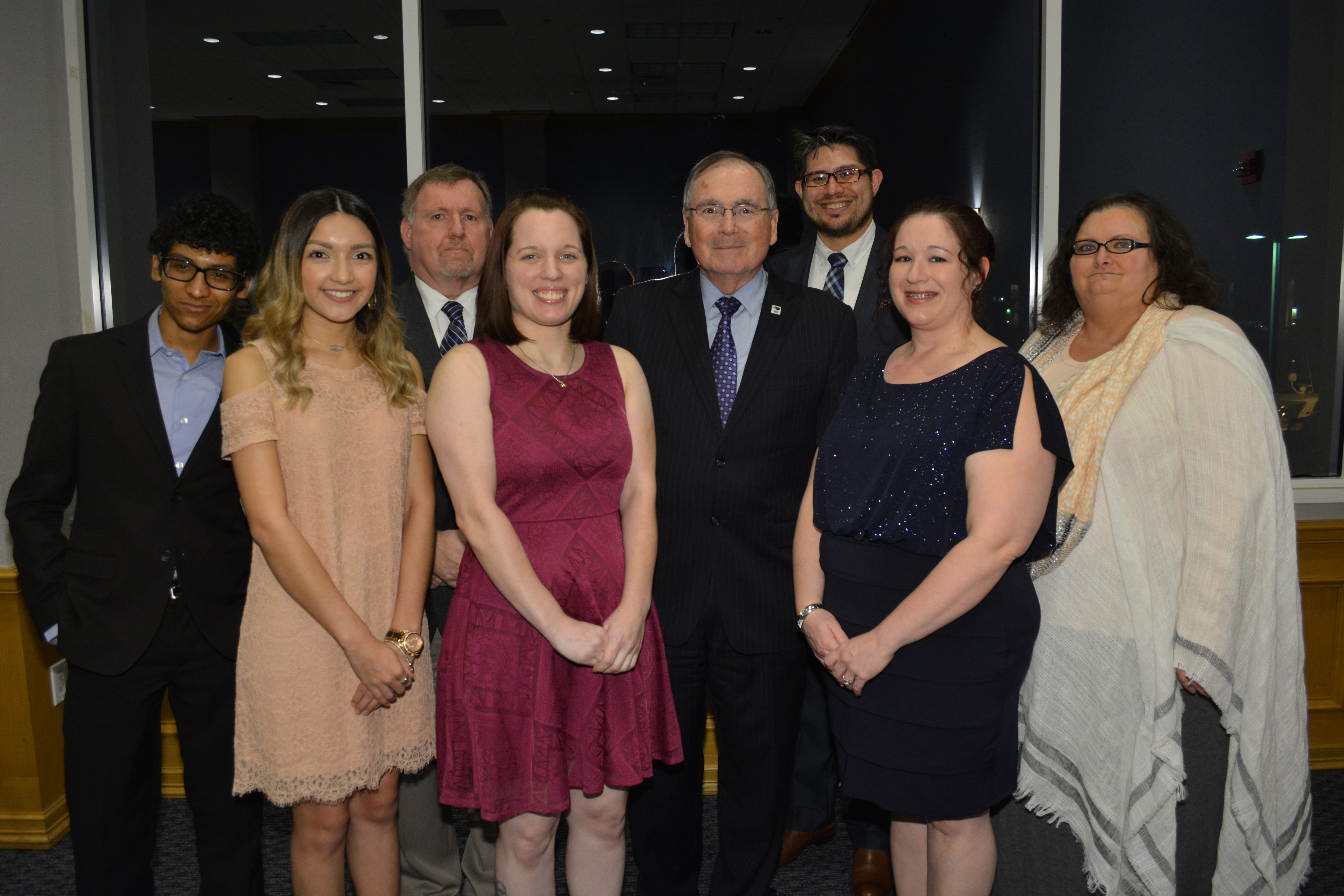 UHCL president recognizes donors for lasting impact on students