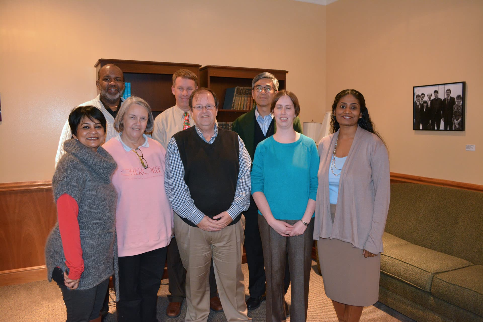 QEP Leadership Team wraps up enhancement project