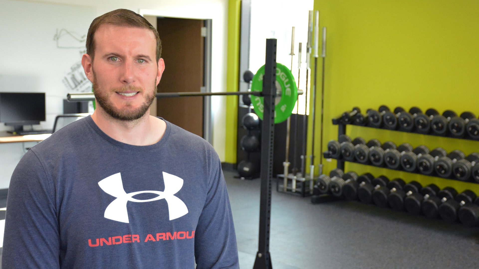 Veteran trains for new career in exercise science at UHCL