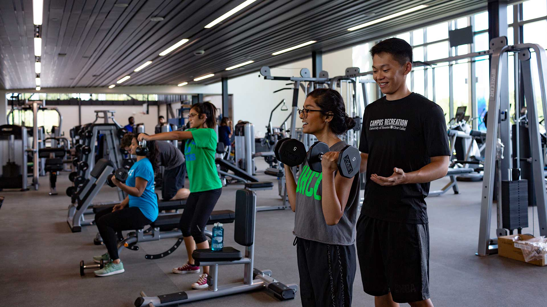 UHCL alumni invited to preview rec center for free