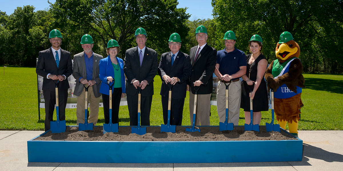 UHCL breaks ground on STEM, wellness facilities