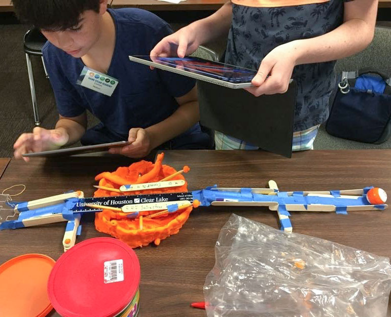 Middle schoolers learn engineering process in first Hawk STEAM Academy