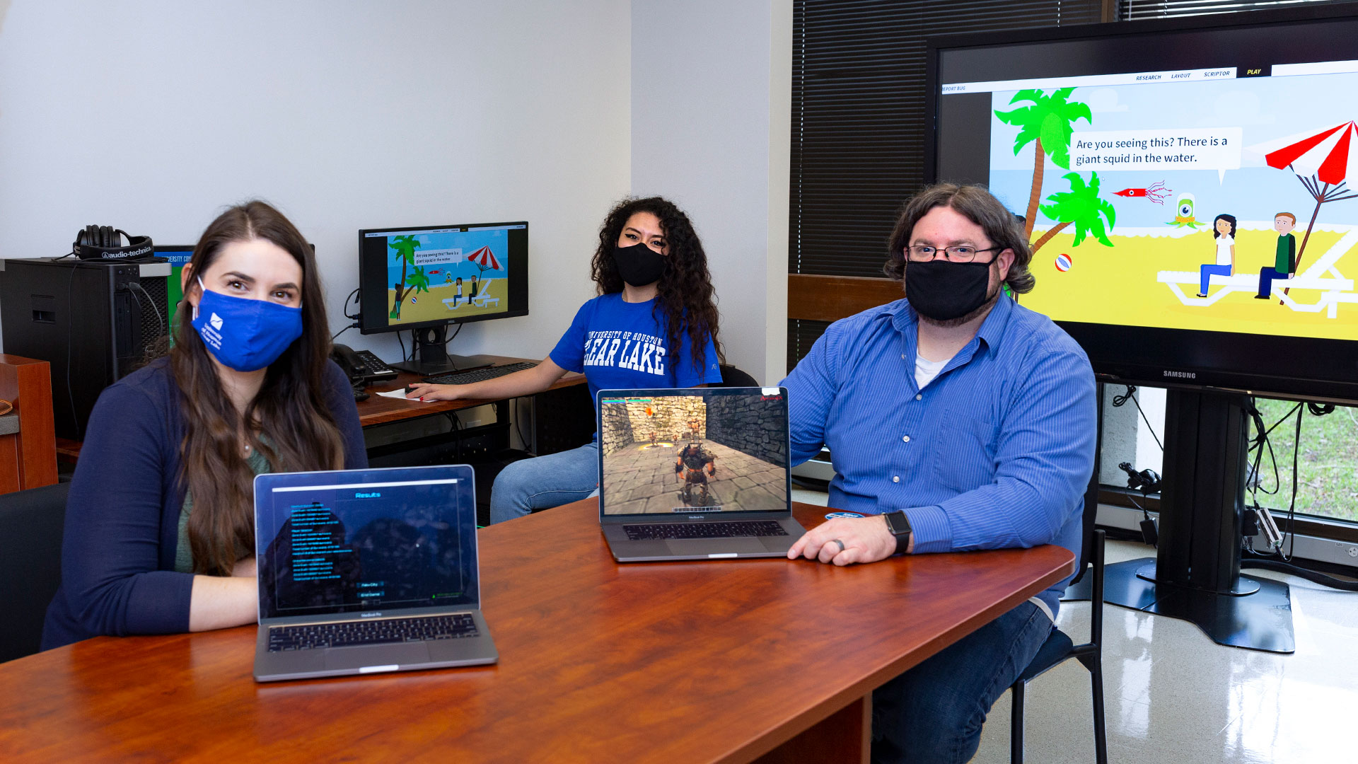 New degree a game changer for video, tech students at UHCL