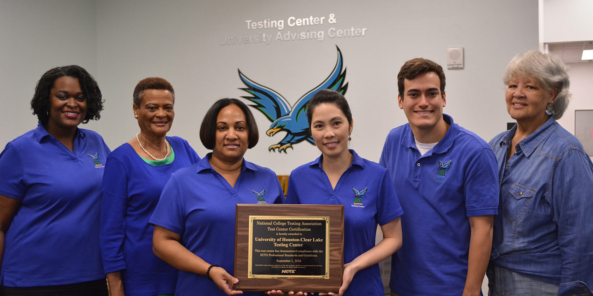 UHCL Testing Center earns national certification