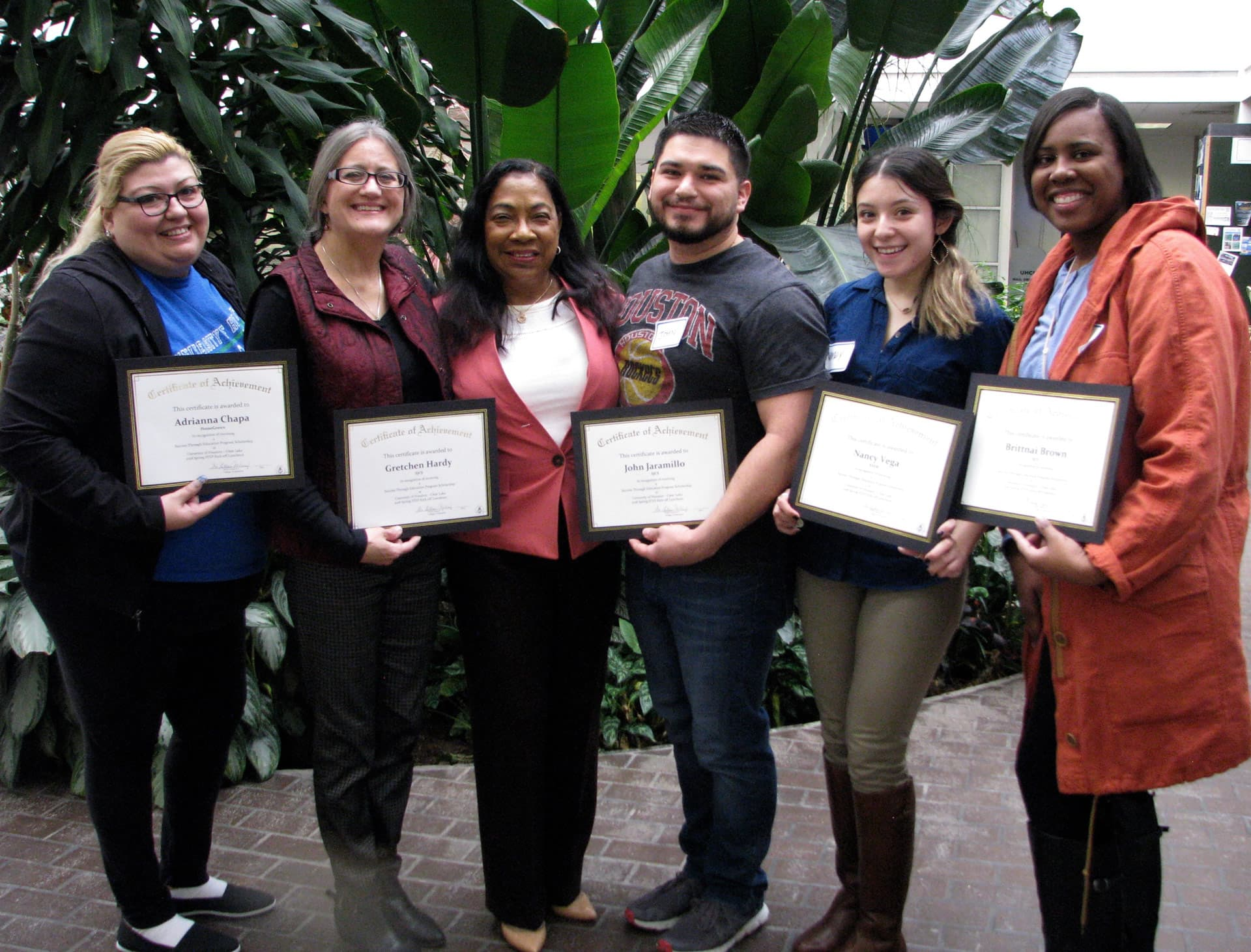 UHCL awards STEP scholarships to teacher candidates