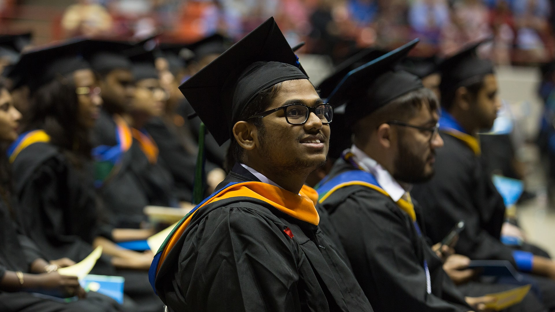 UHCL spring commencement ceremonies May 19 at NRG Arena