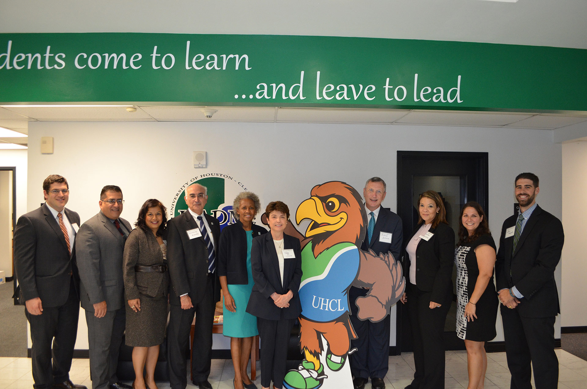 UHCL Healthcare Administration holds open house
