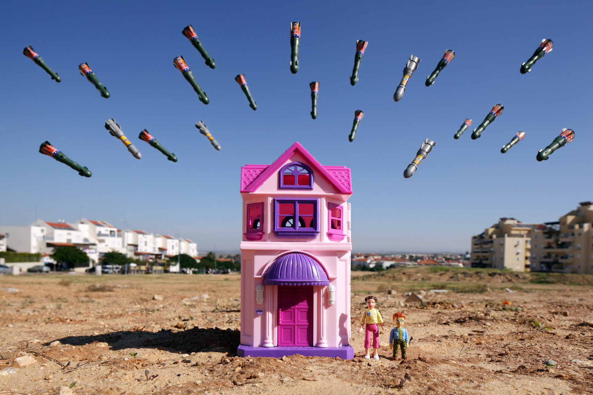 'War-Toys' exhibition spotlights the reality of children living in armed conflict