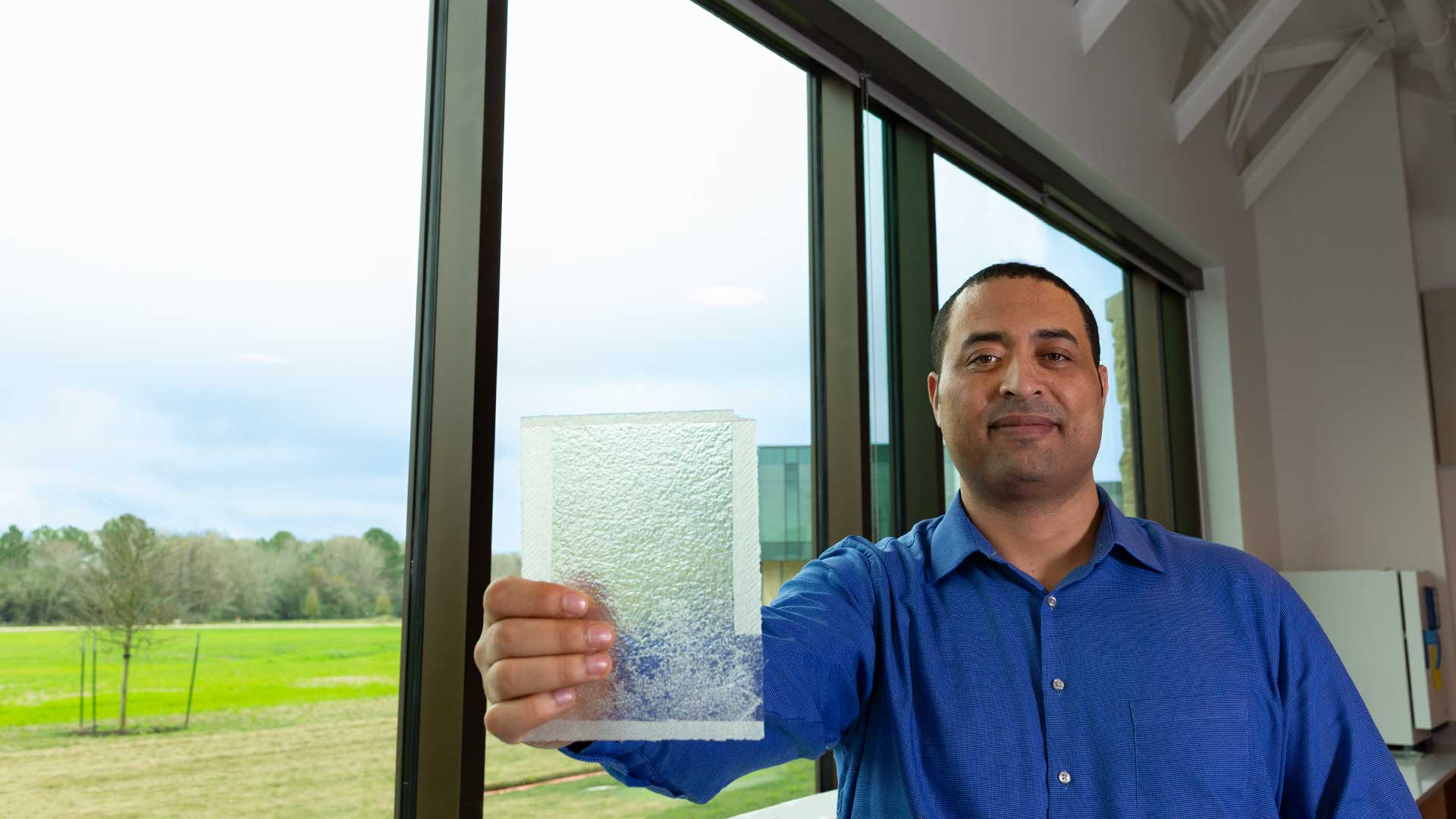 UHCL prof's experiments with silk-fiber composites show promising results